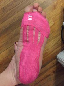 Taping Feet