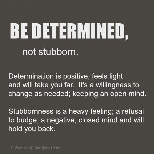 BeDetermined